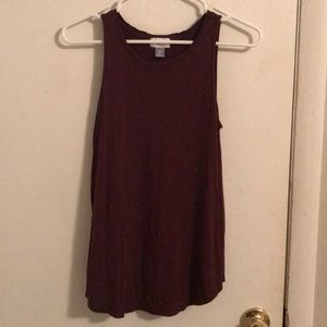 Maroon xs tank top Old Navy